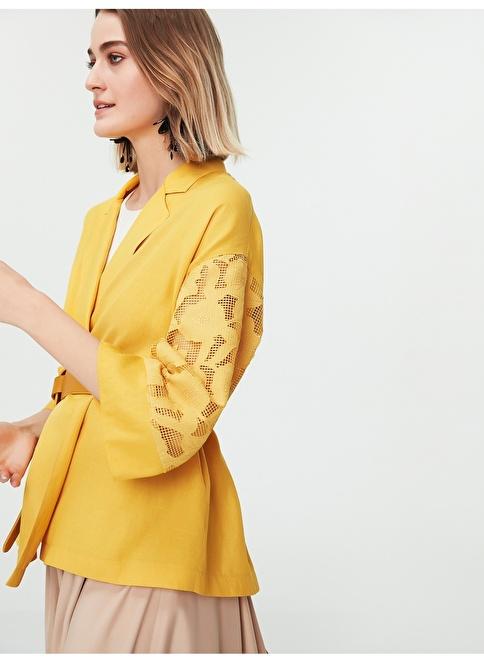 Ipekyol Ceket Sarı